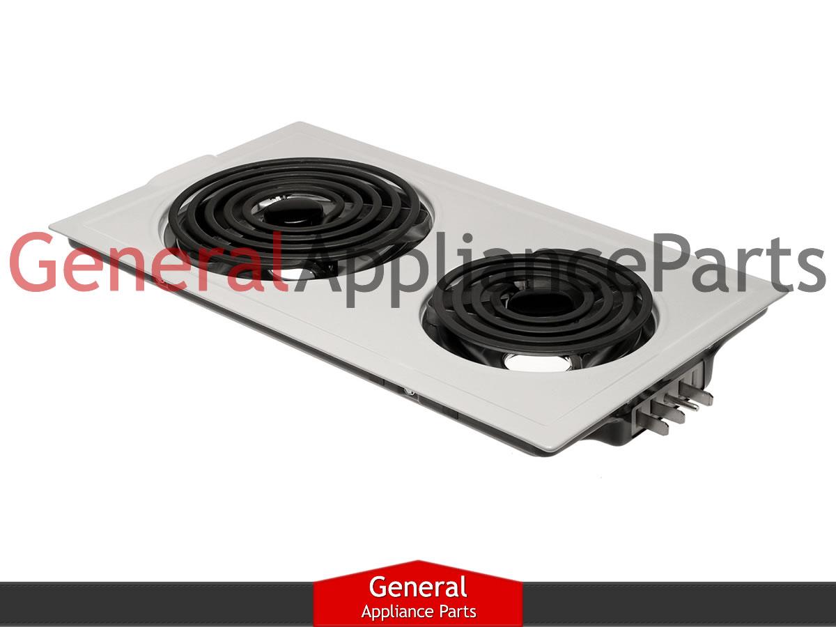 Jenn air electric downdraft cooktop parts - Jenn Air Designer Line Cooktop White Electric Coil Element Cartridge Jea7000adw