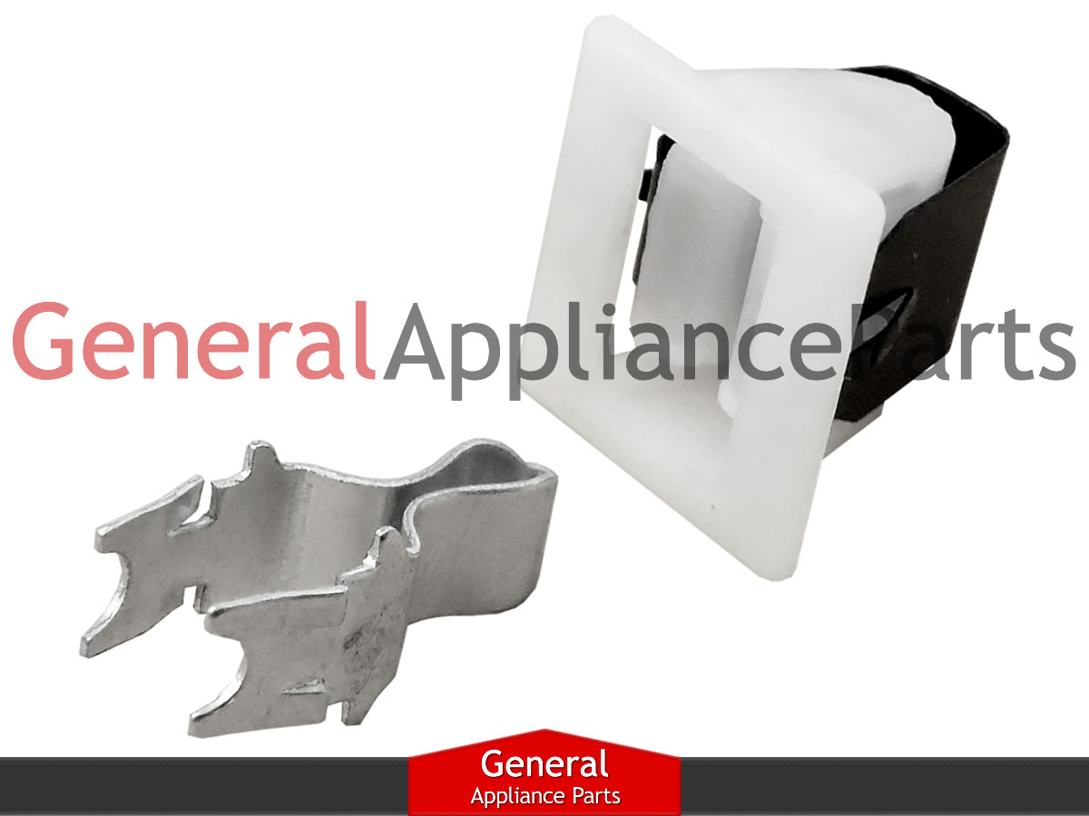 Details about GE Hotpoint Kenmore Dryer Door Catch Strike Latch Kit on