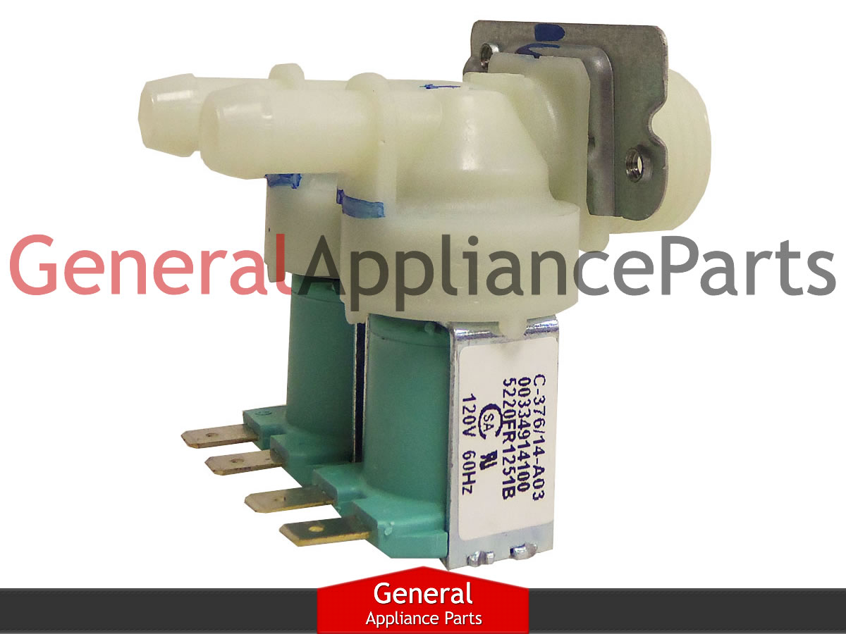 lg washing machine parts lg kenmore washer washing machine inlet valve assembly 10454
